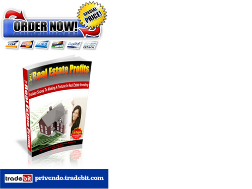 Product picture The Real Estate Profits - The Ultimate Insider Tips Guide
